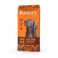 "Сухой корм ""Banters"" Puppy Junior Large 15кг д-щенков курица-рис"