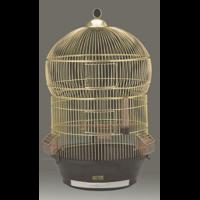 "Клетка ""Jina"" для птиц  золотоя 43*70  373-1"