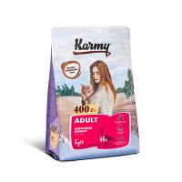 """Сухой корм """"Karmy"""" 1,5кг Adult д-кошек Гусь"""