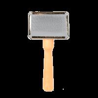 Triol Пуходерка мини деревянная ручка с каплей 104А (31741007)