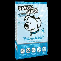 """Сухой корм """"Barking Heads"""" 18кг """"Рыбка вкусняшка"""" д-собак лосось-форель-батат"""