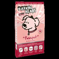 """Сухой корм """"Barking Heads"""" 12кг """"Мисочку оближешь"""" Б З д-собак лосось-картофель"""