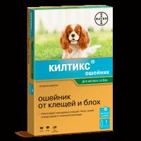 """BAYER Ошейник """"Килтикс"""" 35см д-мелких пород собак и кошек от блох-вшей-клещей-власоедов"""