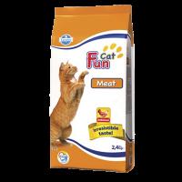 """Сухой корм """"Фармина"""" 2,4кг FUN CAT MEAT  д-кошек"""