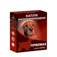 "Капли от блох ""Фипромакс""  д-собак"