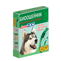"""Ошейник """"Доктор Зоо"""" 65см д-собак против блох-клещей"""