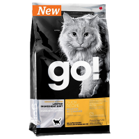 """Сухой корм """"Гоу"""" Sensitivities Gran Free Б/З 7,26кг д-котят/кошек чувств. пищеварение св. утка 31/15"""