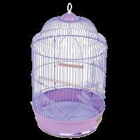 Клетка  для птиц круглая  33*56 (33А)