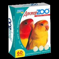 """Витамины """"Доктор Зоо"""" 60таб. для птиц"""
