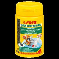 "Корм ""Sera"" Goldy Color Spirulina  100мл для золотых рыбок гранулы"