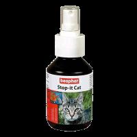 "Спрей ""Беафар"" STOP-It Cat 100мл..д-кошек отпугивающий"