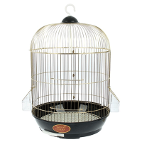 """Клетка для птиц 33*33*53 см """"золото """"(1203027)"""