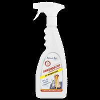 Верный Друг Спрей 400мл Ликвидатор запаха и пятен моющее средство д-клеток-переносок