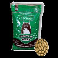 """Наполнитель """"Сибирская кошка"""" лесной древесный 20кг простая упаковка"""