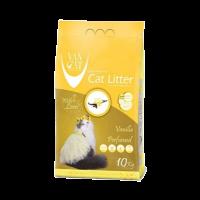 """Наполнитель """"Van Cat"""" комкующийся аромат ванили (без пыли) 10кг"""