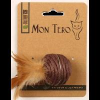 """Mon Tero Игрушка ЭКО """"Шар"""" с кошачьей мятой д-кошек 5см"""