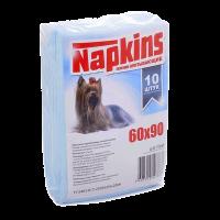 """Пеленки """"Напкинс"""" 10шт д-собак 60*90 см"""