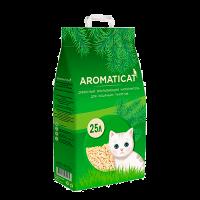 """Наполнитель """"AromatiCat"""" Древесный впитывающий 25л ( 15 кг)"""