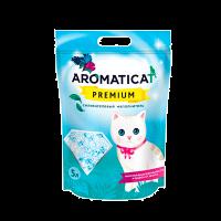 """Наполнитель """"AromatiCat"""" Premium силикагелевый 10л ( 4 кг)"""