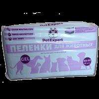 """Пеленки """"Pet Expert"""" 30шт д-собак 60*90 см"""