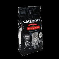 Catzone Наполнитель Active Carbon 10кг д-кошек с активированным углем