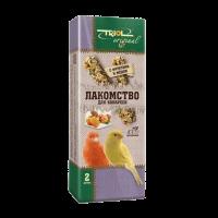 """Лакомство """"Триол"""" д-канареек палочки с фруктами и медом  2 шт"""