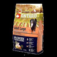 "Сухой корм ""Ontario"" Adult Large 12кг д-крупных пород курица-картофель"