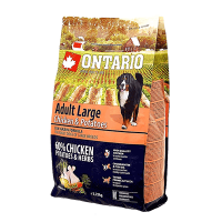 "Сухой корм ""Ontario"" Adult Large 2,25кг д-крупных пород курица-картофель"