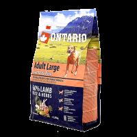 """Сухой корм """"Ontario"""" Adult Large 12кг д-крупных пород ягненок-индейка-рис"""