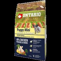 "Сухой корм ""Ontario"" Adult Mini  6,5кг д-малых пород курица-картофель"