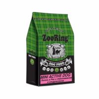 "Сухой корм ""Zoo Ring"" 10кг Mini Adult д-собак мини и сред. пород лосось-рисом-пробиотики"