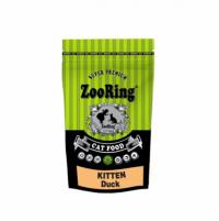 """Сухой корм """"Zoo Ring"""" 350г Kitten Duck д-котят утка-с гемоглоб. и пробиот."""
