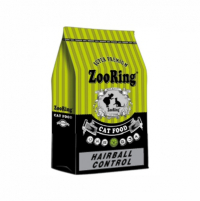 "Сухой корм ""Zoo Ring"" 1,5кг Adult Cat Hairball Control д-кошек"