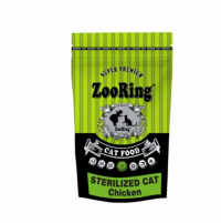 "Сухой корм ""Zoo Ring"" 350г Sterilized Cat Chiken д-кастр.кошек/котов цыпленок"