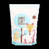 """Наполнитель """"Smart Cat"""" силикагелевый c pH индикатором 3л ( 1,25 кг)"""