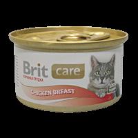"""Консервы """"Брит"""" Care Cat  80г д-кошек куриная грудка"""