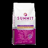 """Сухой корм """"Summit """" Холистик 1,8кг д-домашних кошек три вида мяса цыпленок-лосось-индейка"""