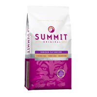 """Сухой корм """"Summit """" Холистик 6,8кг д-домашних кошек три вида мяса цыпленок-лосось-индейка"""