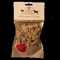Гордость Охотника Печенье говядина- паприка 200г д-собак