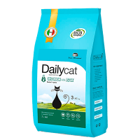 "Сухой корм ""Daily Cat"" SENIOR 3кг д-пожилых кошек курица-рис"
