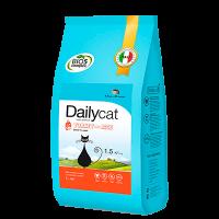 """Сухой корм """"Daily Cat"""" SENIOR 1,5кг д-пожилых кошек индейка-рис"""