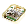 "Консервы  ""Mister Stuzzi Cat"" 100г д-кошек телятина-морковь (алюпак)"