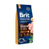 """Сухой корм """"Брит"""" Premium Nature Adalt  M 15кг д-собак средних пород от 1-6 лет (10-25кг)"""