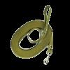 Поводок Томикс брезент цилиндр.карабин 1,7м/25мм (8,723)