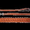 ГАММА Поводок кожанный коса №10 Цп-03200 (11032004)