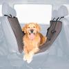 TRIXIE А/м Подстилка на сиденья д-собак 1,44*1,45см .нейлон серо/коричневый (13233)