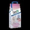 """Наполнитель """"Sani Cat"""" 7 DAYS впитывающий Роза 4л  (2,7кг)"""