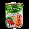"Консервы ""Оскар"" 350г д-собак телятина"