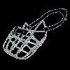 ГАММА Намордник метал д-собак лайка ( Н-0001)
