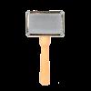 Triol Пуходерка мини деревянная ручка с каплей (104А )